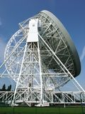 Radar Dish. A photo of a radar dish in the Chessire Countryside Royalty Free Stock Photography