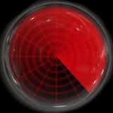 Radar display Stock Photos