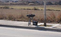 Radar do tráfego Imagem de Stock