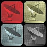 Radar do vetor Imagem de Stock