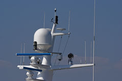 Radar Dome Royalty Free Stock Images
