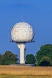 Radar dome. Air traffic radar installation in a dome structure (known as 'radome Stock Photo