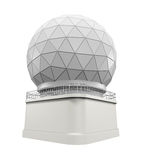 Radar Dome Station Royalty Free Stock Photography