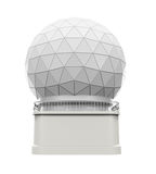 Radar Dome Station Royalty Free Stock Photo