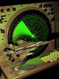 Radar en F15 model vector illustratie