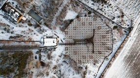 Radar för forskning av en jonosfär Royaltyfri Foto