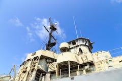 Radar för krigskepp Arkivbild