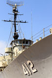 Radar för krigskepp Royaltyfri Foto