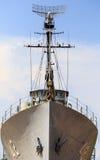 Radar för krigskepp Arkivfoto