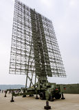 Radar. It is found that the long-range target surveillance radar, the sky and the sea, an important navigation equipment and early warning, just Chinese now royalty free stock photos