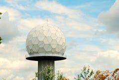 radar gigante del golfball fotografia stock libera da diritti