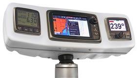 Radar and GPS navigation Royalty Free Stock Image