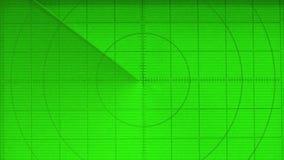 Radar grande con un fondo verde libre illustration