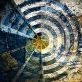 Radar grunge Images libres de droits