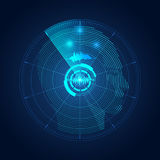 Radar head Stock Image