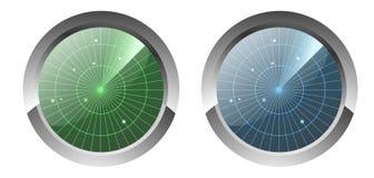 Radar Icons Royalty Free Stock Photos