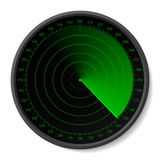 Radar. Insert your map. Stock Images