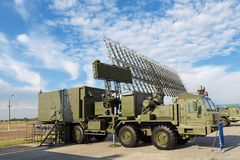 Radar komplicerad 55ZH6ME Arkivfoton