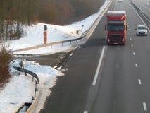 Radar móvel na estrada fotos de stock royalty free