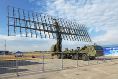 Radar móvil Foto de archivo libre de regalías