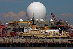 Radar marin de bande x Images libres de droits