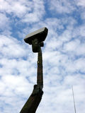 Radar militar Foto de archivo