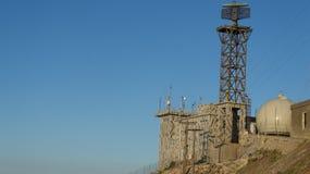 Radar militar Fotografía de archivo libre de regalías