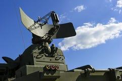 Radar militar fotografía de archivo