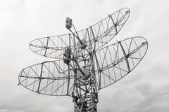 Radar mobile militaire Images libres de droits