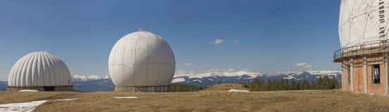 Radar in montagna Fotografia Stock Libera da Diritti