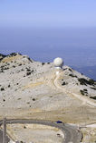 Radar Mount Ventoux Stock Photo