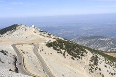 Radar Mount Ventoux Stock Images