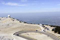 Radar Mount Ventoux Stock Image