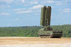 Radar od rodziny lotnicza obrona S-300 Fotografia Stock