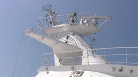 Radar på ett stort skepp lager videofilmer
