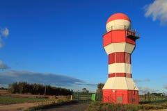 Radar près de l'aéroport de Danzig, Pologne Image libre de droits