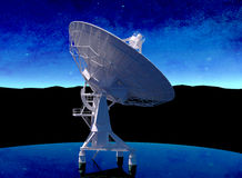 Radar (radio telescope) Royalty Free Stock Photography