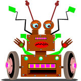 Radar robot Stock Images