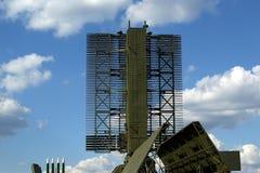 Radar russe moderne Images libres de droits