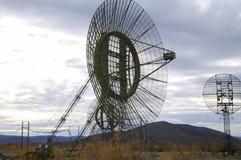 Radar satellite communication antenna royalty free stock photos