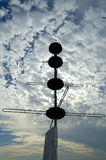 Radar-Schattenbild Lizenzfreies Stockfoto