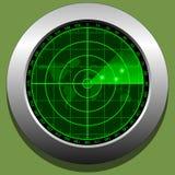 Radar screen Stock Image