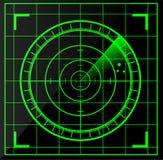 Radar screen. Vector illustration background Stock Photos