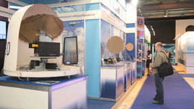 Radar small size stock video footage
