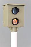 Radar speed camera Stock Photo