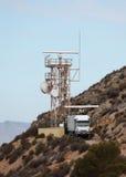 Radar station Royalty Free Stock Images