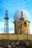 Radar Station in Dingli Stock Photo
