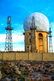 Radar Station in Dingli Stock Photos