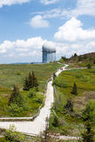 Radar station on Grosser Arber Stock Photography