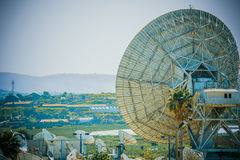 Radar station in Israel Royalty Free Stock Photography